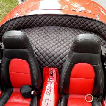 Carbonmiata rear parcel shelf cover for na 332 356x356